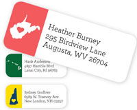 Chatsworth - Address Labels (State)