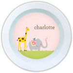 Boatman Geller - Personalized Melamine Bowls (Animal Parade)