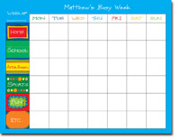 Chatsworth Robin Maguire - Calendar Pads (My Schedule - Calendar Pad)