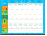 Chatsworth Robin Maguire - Calendar Pads (Gettin' Skinny - Calendar Pad) (DS-10-812-01)