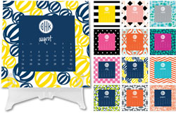 Dabney Lee Personalized Desktop Calendars - Desk Calendar #1