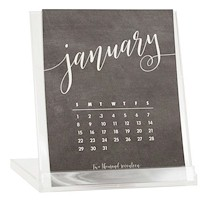 Desktop Calendars (Chalkboard)