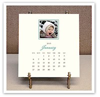Stacy Claire Boyd - Personalized Digital Photo Desk Calendar & Easel (CCS124)