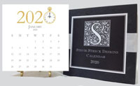 Stevie Streck Designs - Desk Calendar (2020)