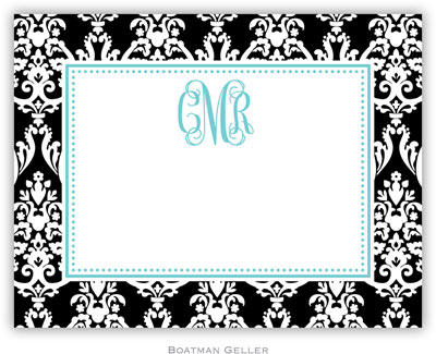 Boatman Geller - Create-Your-Own Calling Cards (Madison Damask)