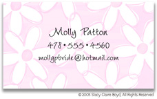Stacy Claire Boyd Calling Cards - Small Oopsy Daisy