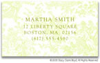 Stacy Claire Boyd Calling Cards - Small Summerland Toile - Green