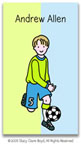 Stacy Claire Boyd Calling Cards - Small Soccer All-Star