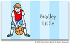Stacy Claire Boyd Calling Cards - Small Basketball All-Star