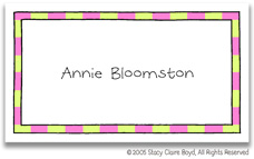Stacy Claire Boyd Calling Cards - Small Gone Campin - Girl