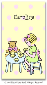 Stacy Claire Boyd Calling Cards - Tea For Two (no env)