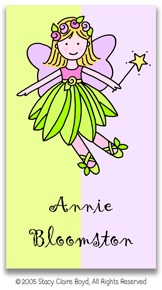 Stacy Claire Boyd Calling Cards - Fairy Princess (no env)