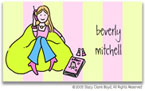 Stacy Claire Boyd Calling Cards - Small Girl Talk
