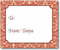 Stacy Claire Boyd Calling Cards - Ginger Brocade