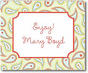 Stacy Claire Boyd Calling Cards - Ginger Paisley