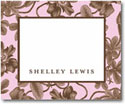 Stacy Claire Boyd Calling Cards - Pretty Pink Botanical