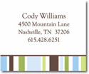 Stacy Claire Boyd Calling Cards - Country Club Stripe