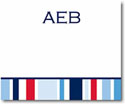 Stacy Claire Boyd Calling Cards - Nautical Stripe