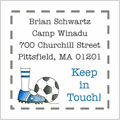 A Sugar Cookie Item - Contact Cards (Soccer Cleat Blue)