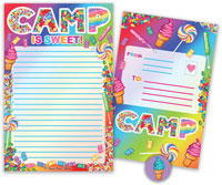 Bonnie Marcus Collection - Camp Seal-N-Send Stationery (Camp Is Sweet)