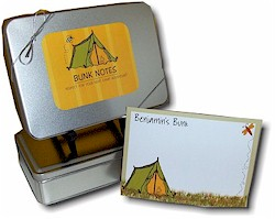 Devora Designs - Bunk Notes (Tent)
