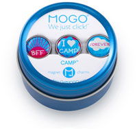 MOGO Magnet Charms - Camp