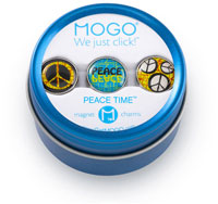 MOGO Magnet Charms - Peace Time