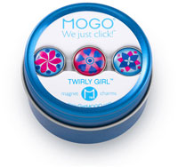 MOGO Magnet Charms - Twirly Girl