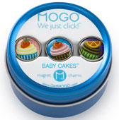 MOGO Magnet Charms - Baby Cakes