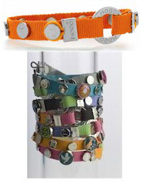 MOGO Magnetic Bracelets - Bright Orange