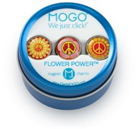 MOGO Magnet Charms - Flower Power