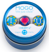 MOGO Magnet Charms - I Heart You