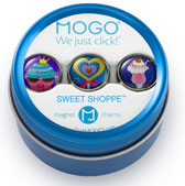 MOGO Magnet Charms - Sweet Shoppe
