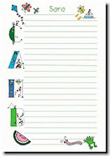 Paper People Camp Stationery - Camp Letters