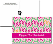 iDesign Postcards - Flip Flops (Camp)