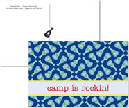 iDesign Postcards - Rocker (Camp)