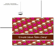 iDesign Postcards - Hearts & Smores (Camp)