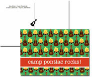 iDesign Postcards - Guitars & Campfire (Camp)