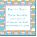 iDesign Keep In Touch Cards - Ice Cream Cones (Camp)