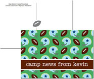 iDesign Postcards - Football (Camp)