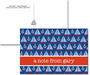 iDesign Postcards - Sailboats (Camp)