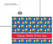 iDesign Postcards - Hamburgers (Camp)