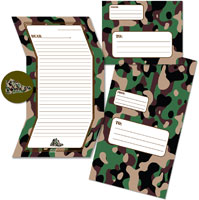 Camp Seal-N-Send Stationery - Hip To Be Square