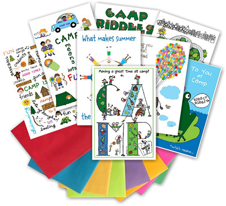 Kamp Kids Camp Greeting Card Packs - KA1