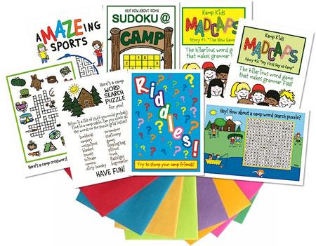 Kamp Kids Camp Greeting Card Packs - KA5