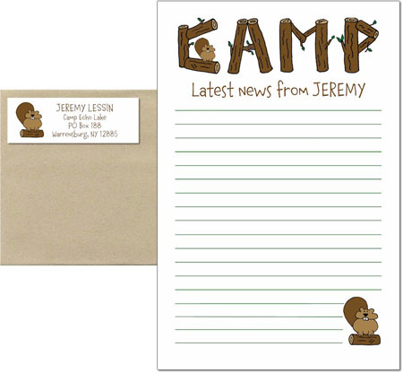 Camp Writing Pads