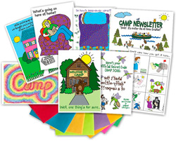 Kamp Kids Camp Greeting Card Packs - KA2