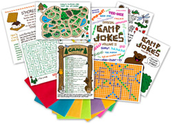 Kamp Kids Camp Greeting Card Packs - KA4
