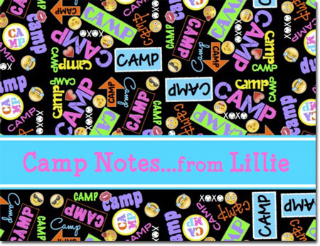 A Namedrops Item - Camp Postcards (Graffiti)