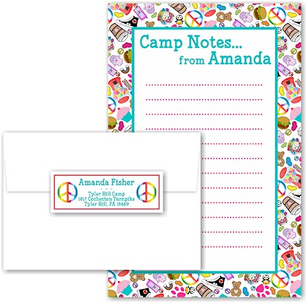 A Namedrops Item - Camp Pad Sets (Camp Groovy Ensemble)